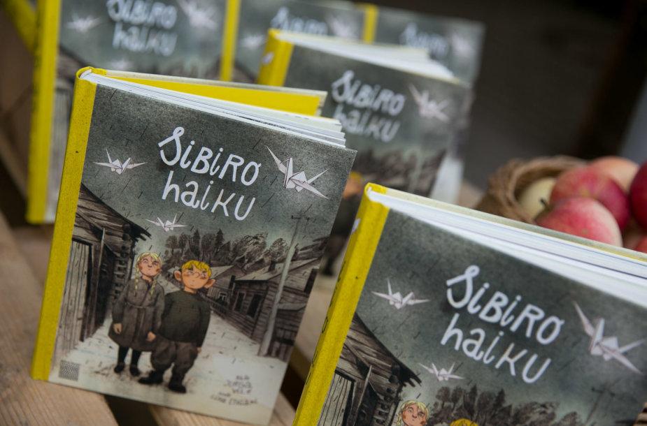 """Knygos """"Sibiro haiku"""" pristatymas"""