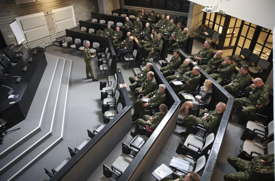 Lietuvos kariuomenė jau rengia karo komendantą