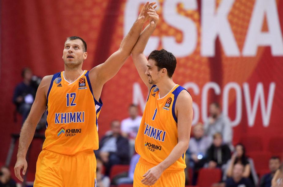 Aleksejus Švedas ir Sergejus Monia