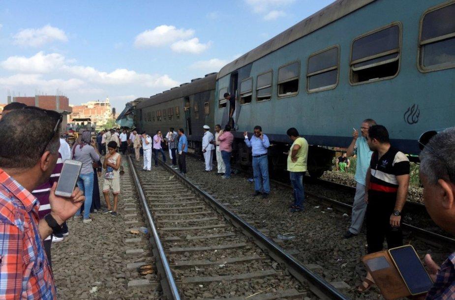 Traukinių avarija Egipte