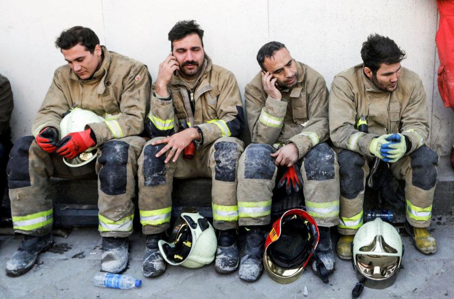 Irano ugniagesiai