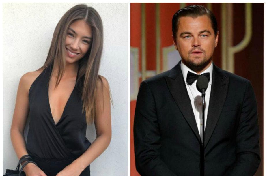 Lorena Rae ir Leonardo DiCaprio