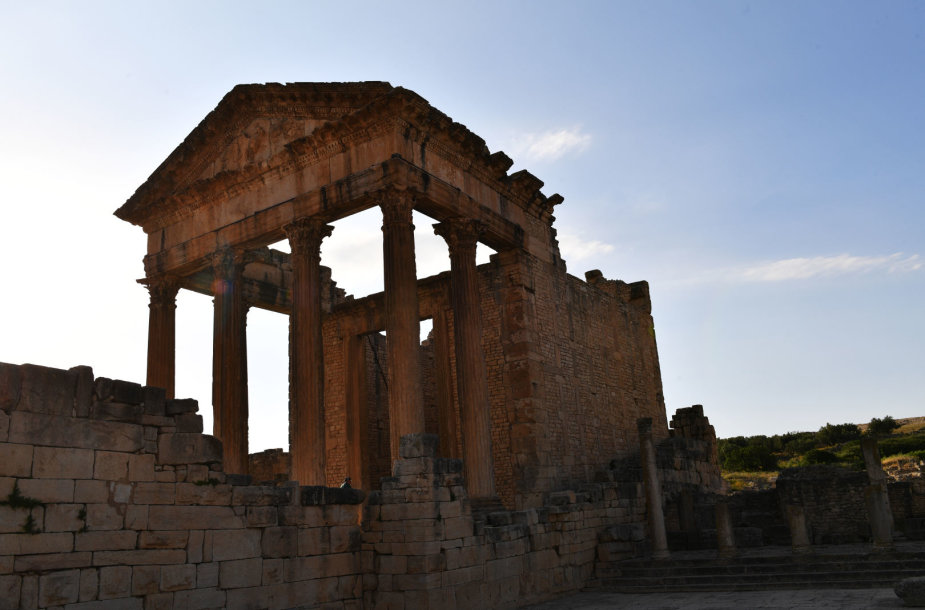 Šiuolaikinis betonas neprilygsta tam, kuris naudotas prieš tūkstančius metų