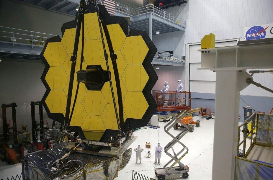 """James Webb"" kosminis teleskopas"