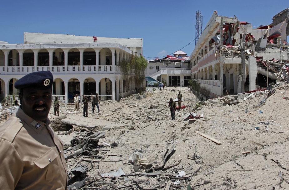 Sprogimo vieta Mogadiše