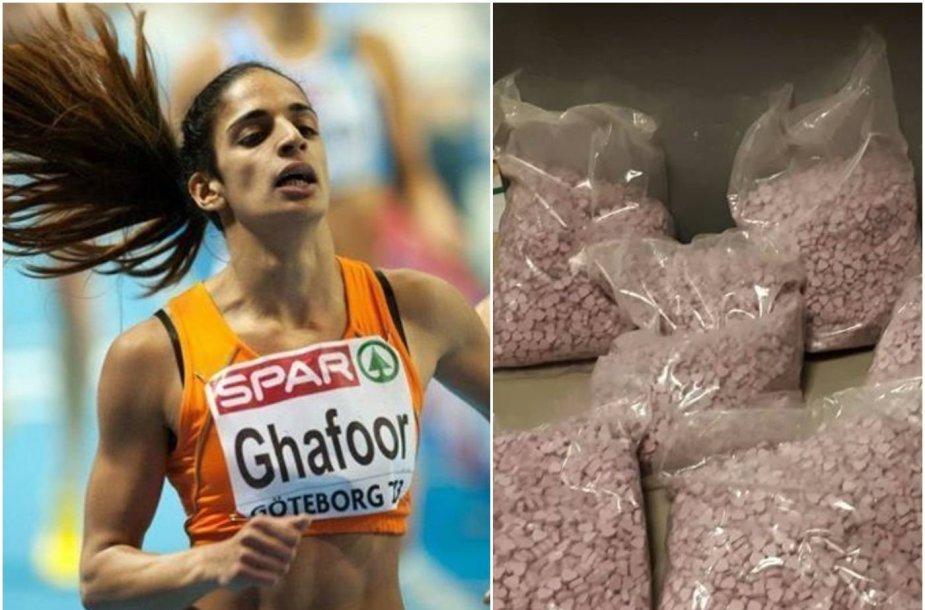 Madieda Ghafoor sulaikyta su dideliu kieki narkotikų.