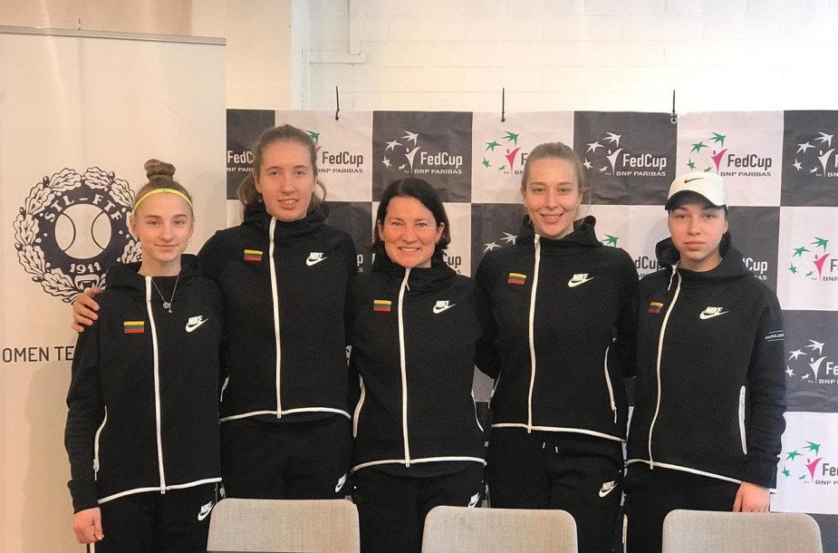 Lietuvos moterų teniso raketė