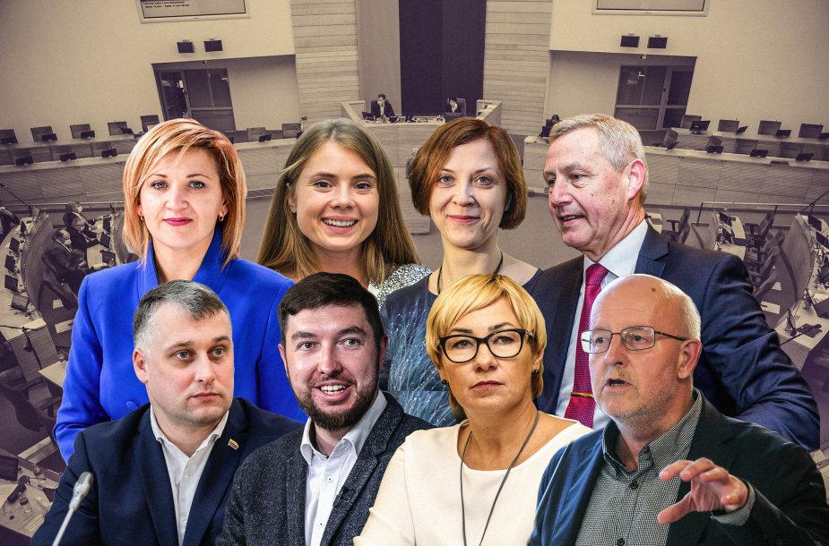 Kandidatai į Seimą