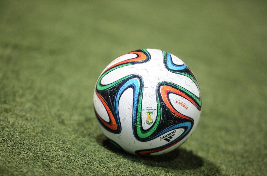 : Pasaulio futbolo čempionato kamuolys Lietuvoje