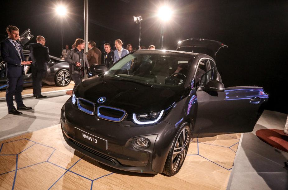 BMW i3 elektromobilis pristatytas lietuviams