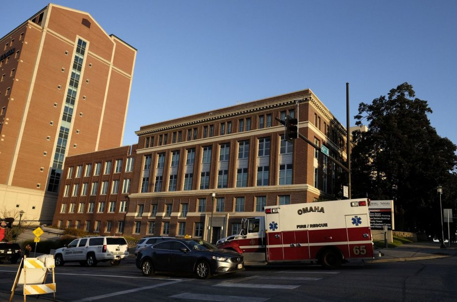Nebraskos ligoninė, kurioje gydytas Ashoka Mukpo