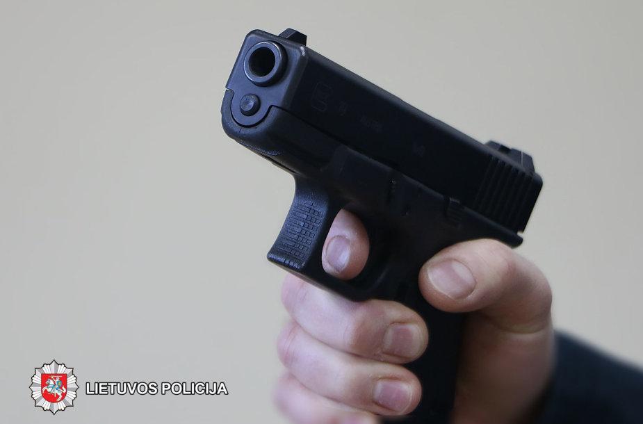 Asociatyvi iliustracija: ginklas