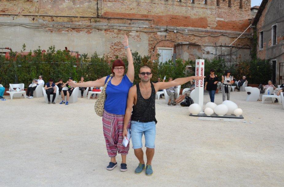 Šarūno Kirdeikio viešnagė Venecijoje
