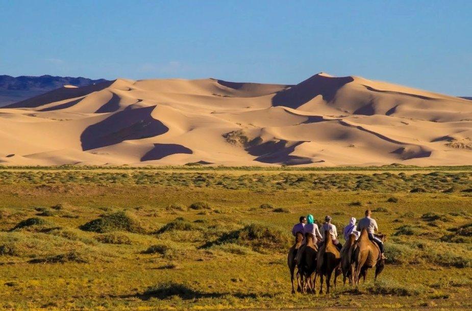 Kongoro smėlio kopos, Mongolija