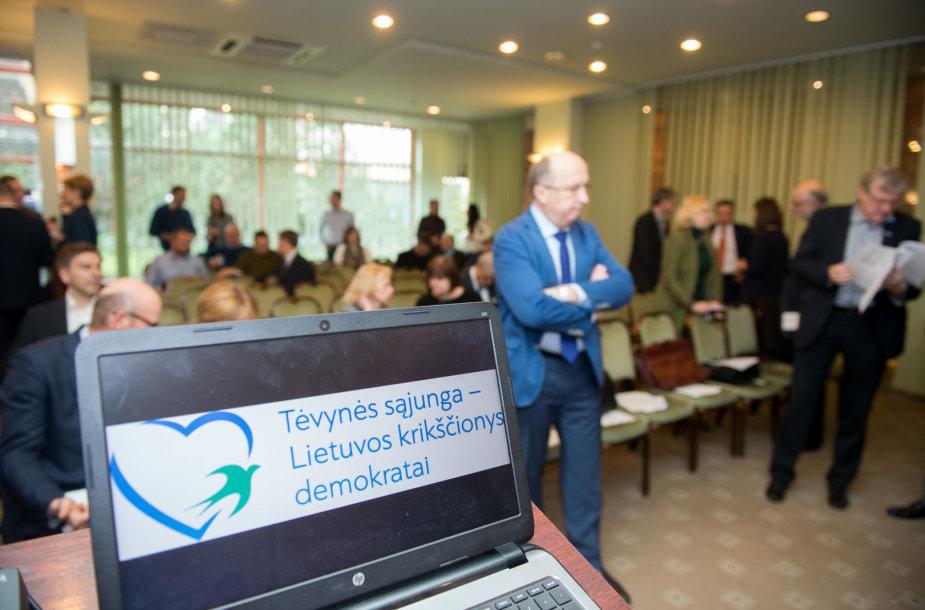 TS-LKD tarybos posėdis