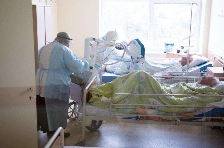 Panevėžio ligoninės COVID-19 skyrius