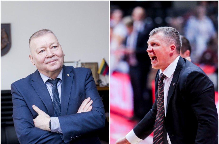 Alytaus meras Vytautas Grigaravičius ir Tomas Pačėsas rimtai susikirto.