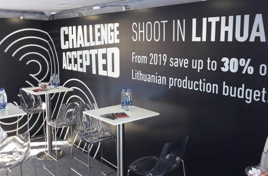 Lietuvos paviljonas (Lithuanian pavilion) Kanų kino festivalyje