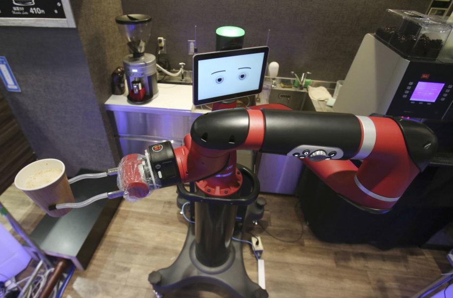 Robotas-barista