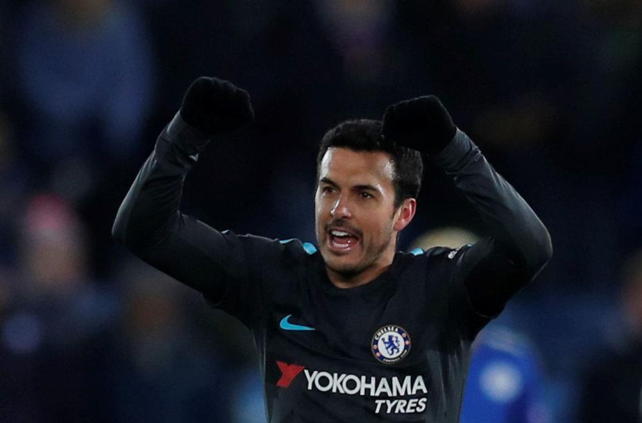 """Pedro įvartis lėmė """"Chelsea"""" pergalę."""