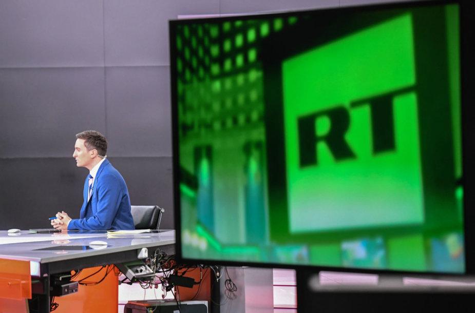 Televizijos RT studija Maskvoje