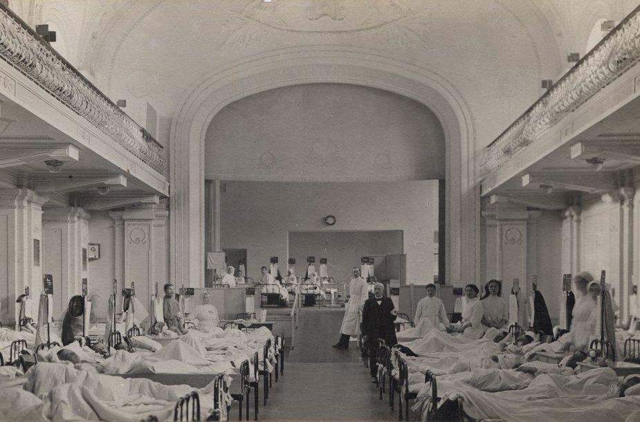 Vokiečių karo ligoninė.