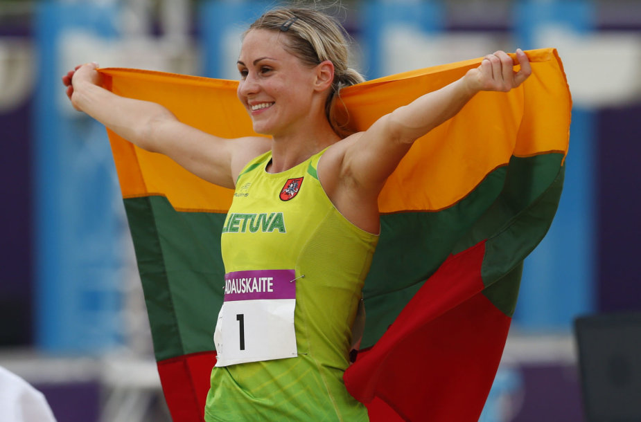 Laura Asadauskaitė Londono olimpinėse žaidynėse iškovojo aukso medalį.