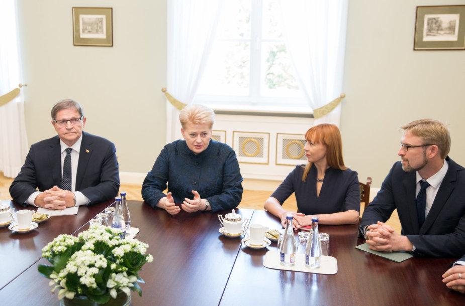 Eugenijus Jovaiša, Dalia Grybauskaitė, Jurgita Petrauskienė, Linas Kukuraitis
