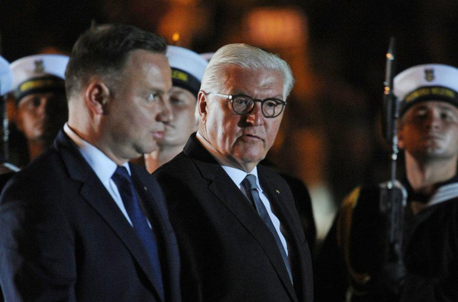Andrzejus Duda ir Frankas-Walteris Steinmeieris