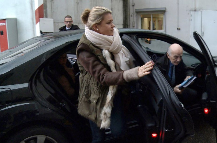 Michaelio Schumacherio žmona Corinna