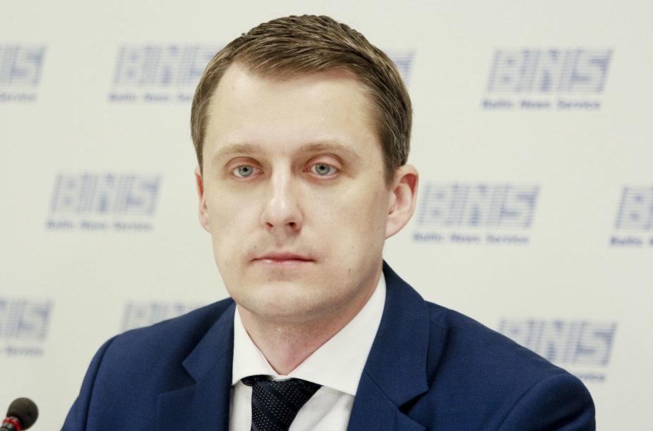 Žygimantas Vaičiūnas, LR Energetikos ministras,