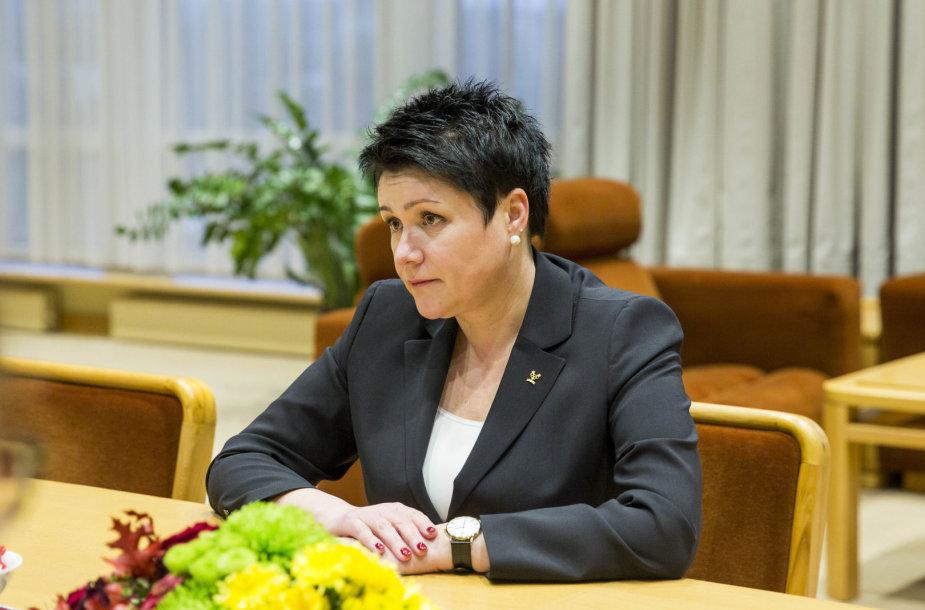 Viktoras Pranckietis susitiko su Lietuvos tautinio olimpinio komiteto prezidente Daina Gudzinevičiūte