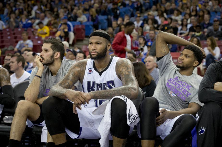 """""""Sacramento Kings"""" krepšininkai"""