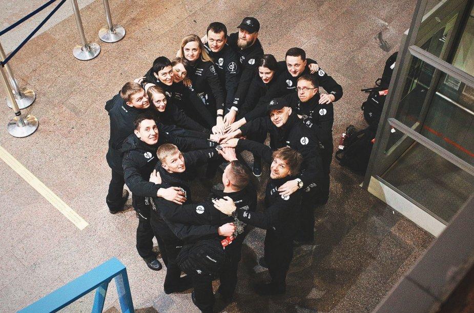 Dalis Benedikto Vanago komandos jau išskrido į Pietų Ameriką