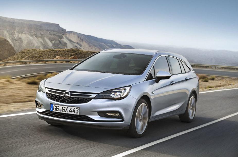 "Naujoji ""Opel Astra"""