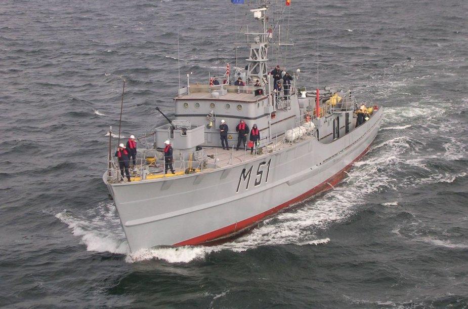 """Karinių jūrų pajėgų laivas """"Kuršis"""" bus perduotas miestui. Klaipėdiečiai raginami teikti siūlymus, kas šiame laive galėtų įsikurti."""