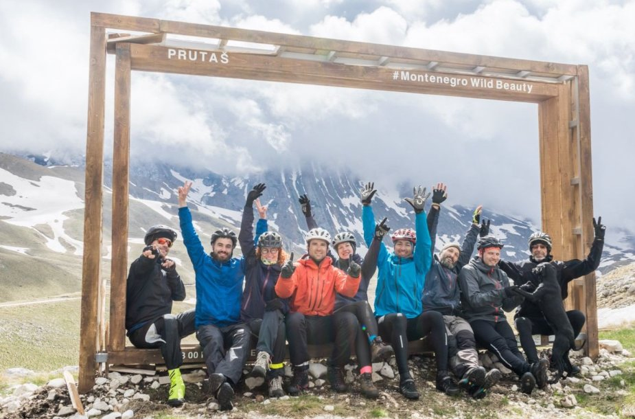 LKA keliautojų klubo Kauno skyriaus organizuota kelionė dviračiais po Juodkalniją