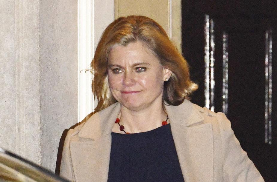 Didžiosios Britanijos švietimo ministrė Justine Greening
