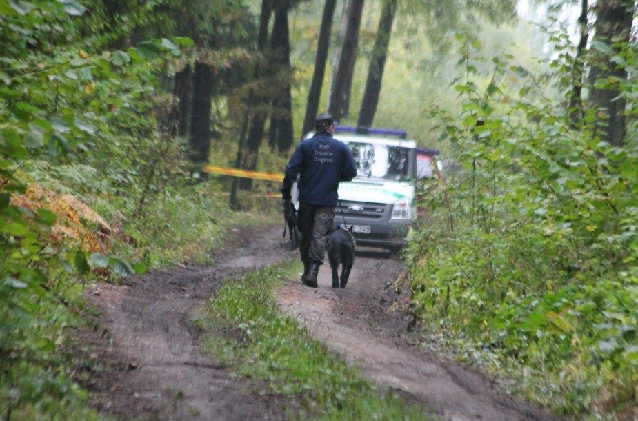Dembavos tragedijos vietoje