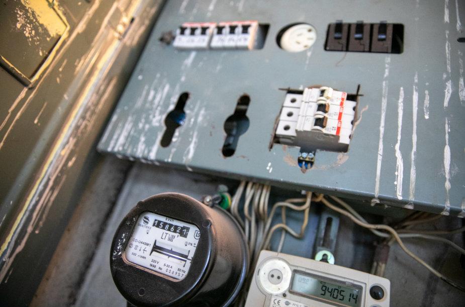 Energijos skirstymo operatorius