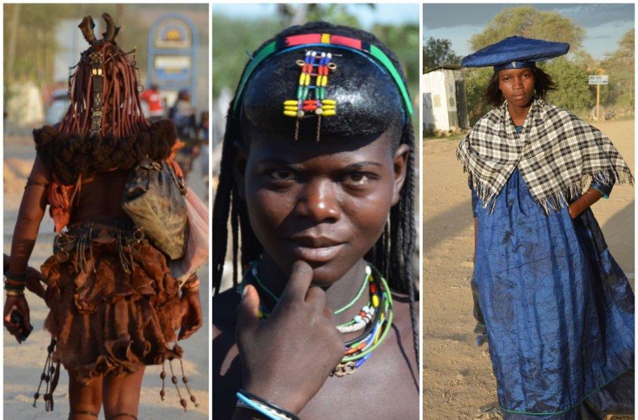 Namibijos genčių įvairovė