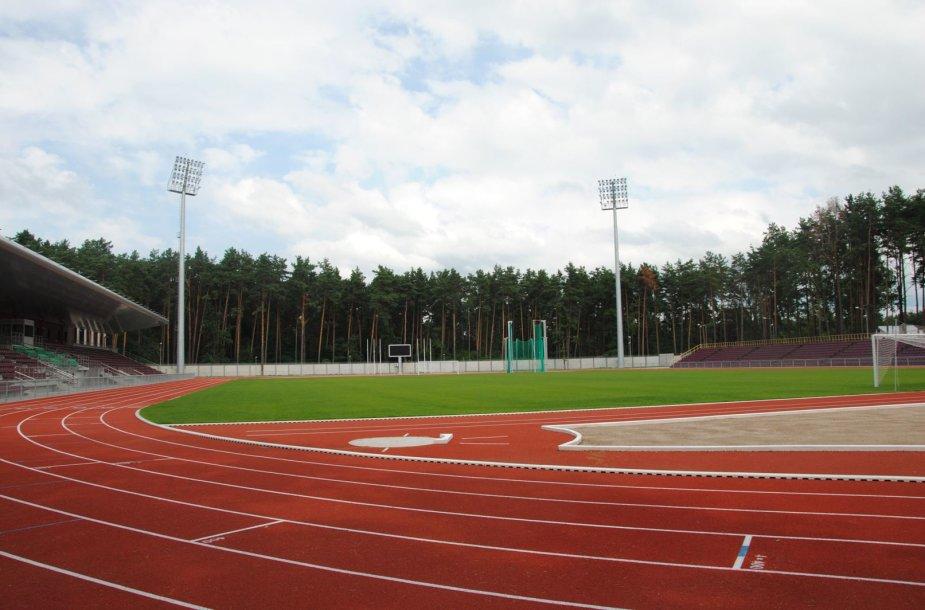 Alytus stadionas po sutvarkymo. Alytaus m. sav. nuotr.