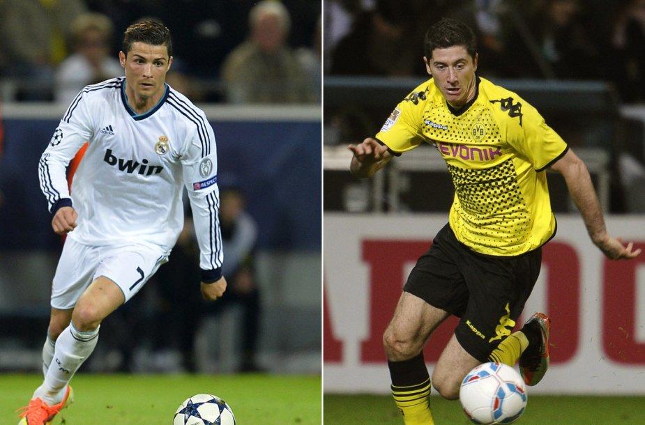 Cristiano Ronaldo ir Robertas Lewandowskis