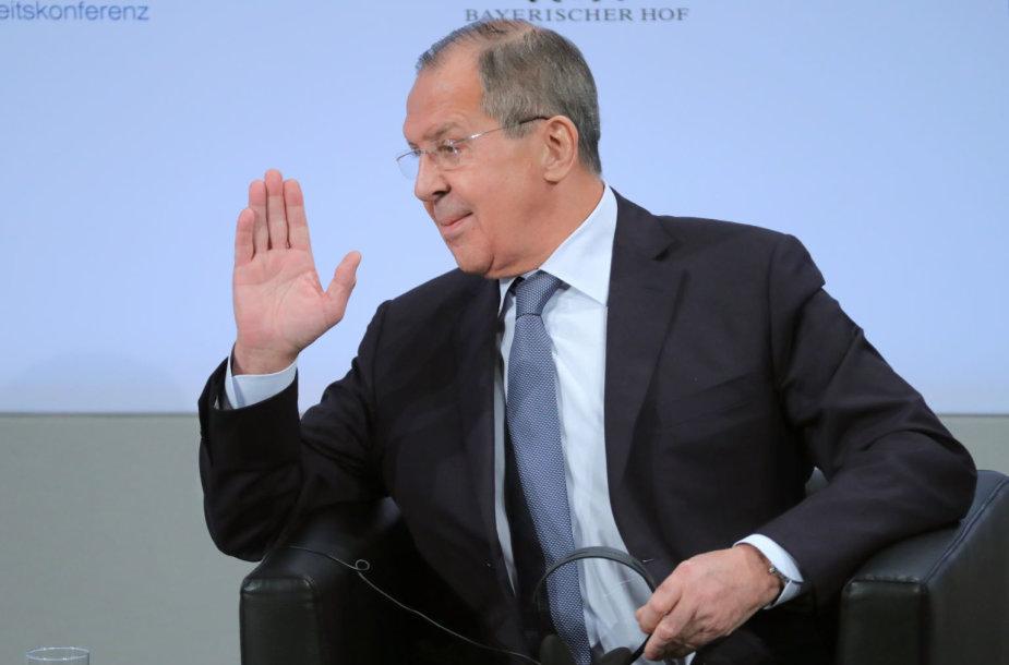 Sergejus Lavrovas Miuncheno saugumo konferencijoje