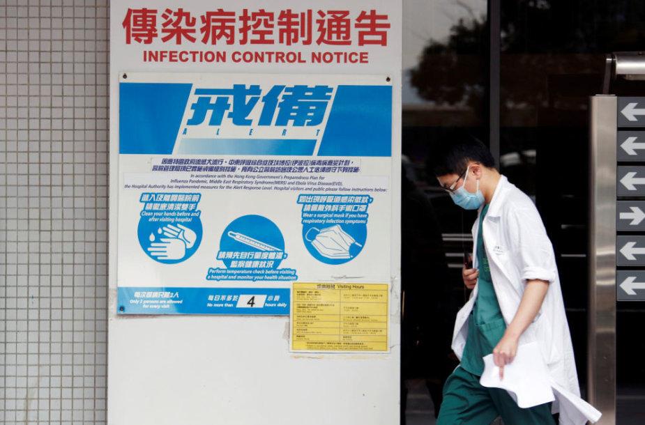 Kinijoje pirmąkart žmogui diagnozuotas paukščių gripo virusas H7N4