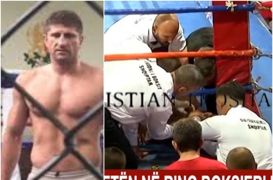 Per turnyrą Albanijoje miręs Borisas Stančiovas (dešinėje) varžybose kovojo savo pusbrolio Isuso Veličkovo pavarde.