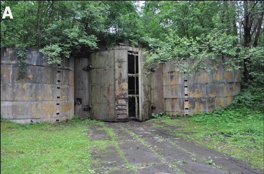 Slapti branduoliniai bunkeriai Lenkijoje