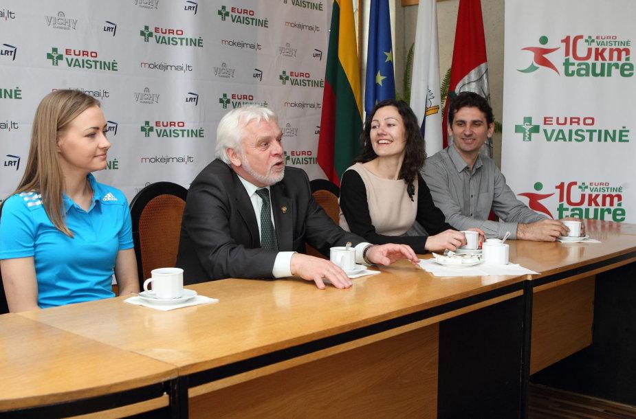Vaida Žūsinaitė, Jurgis Krasnisckas, Neringa Vaitelytė ir Darius Mikulis