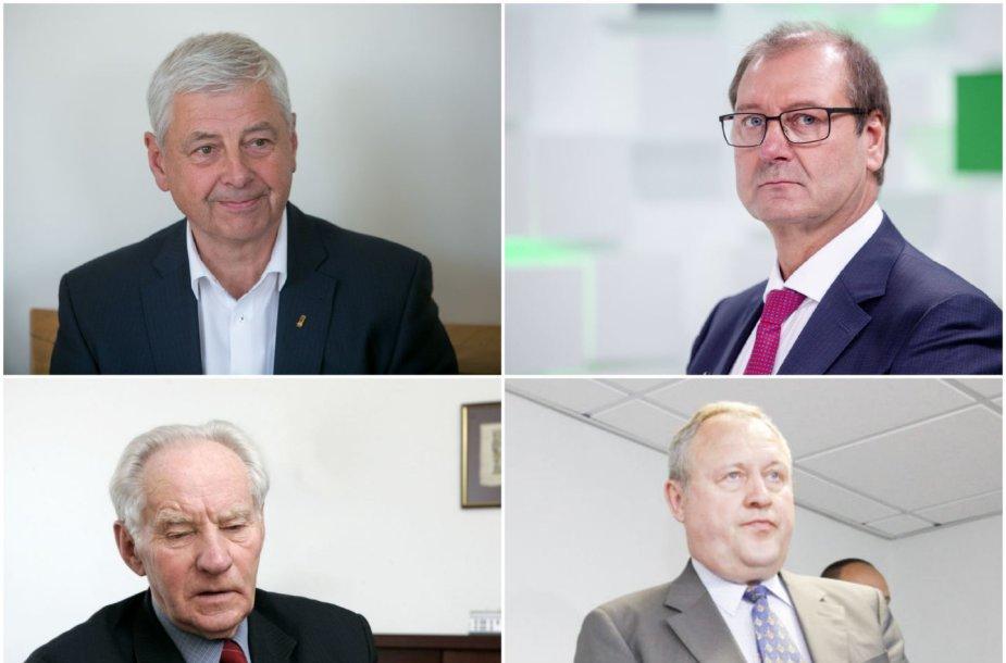Galimai ėmę kyšius: Rymantas Juozaitis, Viktoras Uspaskichas, Pranas Noreika, Anicetas Ignotas