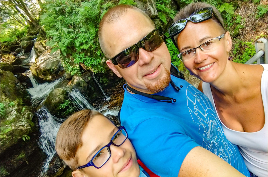 Kristinos ir Tomo Mareckų šeima